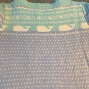 Cashmere whale sweater